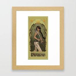 Katniss Everdeen Framed Art Print