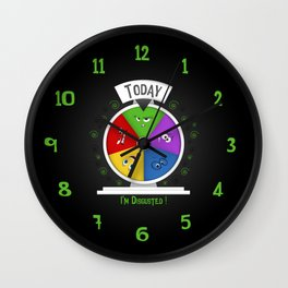 I am Disgusted Wall Clock