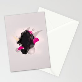 staple abstract Stationery Cards