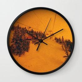 Sunshine Chairlift Wall Clock