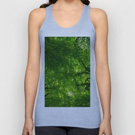 Canopy of leaves Unisex Tank Top