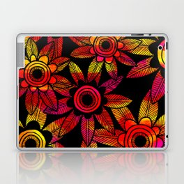 Big Floral 1 Laptop & iPad Skin