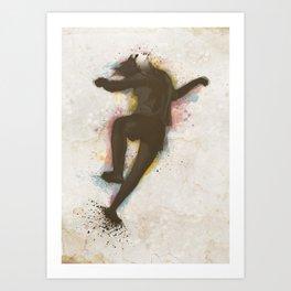 Contemporany Dancing in Color Art Print