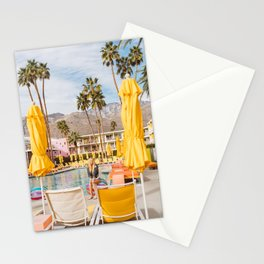 Palm Springs Pool Day VI Stationery Cards