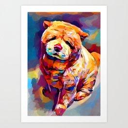 Chow Chow 2 Art Print