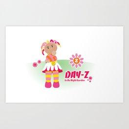 In Da Night Garden #1: Day-Z Art Print