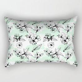 Cherry Flowers IV Rectangular Pillow