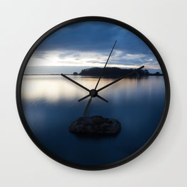 Hikshari' Trail Sunset 2 Wall Clock