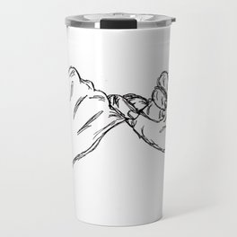 Do you pinky promise? Travel Mug