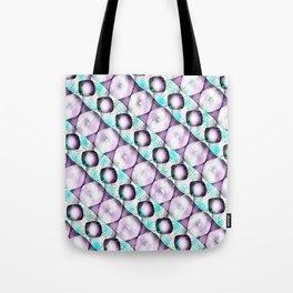 Horizontal Shadow Geometrics Lavender Tote Bag