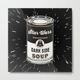 Black Soup Metal Print