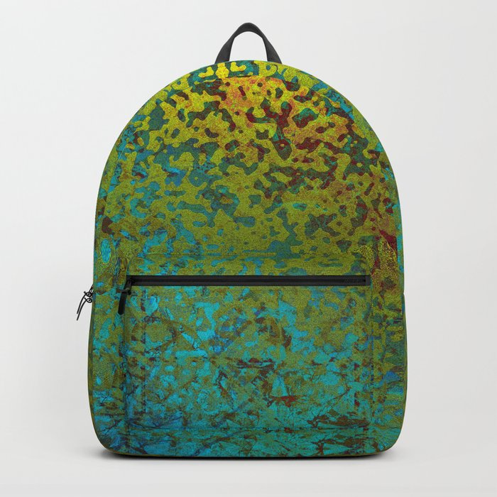 Colorful Corroded Background G292 Backpack