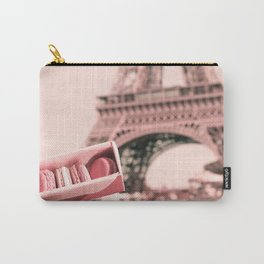 Paris in Blush Pink I Carry-All Pouch