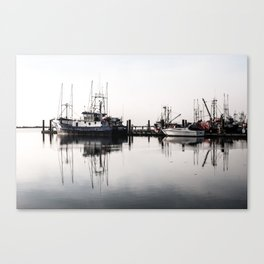 Steveston Marina Canvas Print