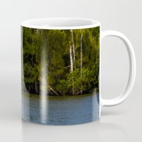 manatee Mugs featuring Manatee Zone by Roger Wedegis