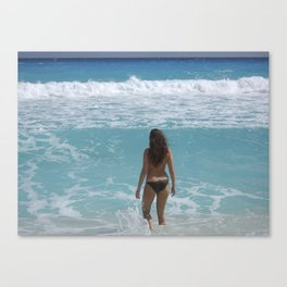 Carribean sea 1 Canvas Print