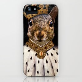 Lord Peanut (King of the Squirrels!) iPhone Case