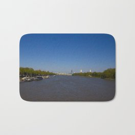 The River Thames, London Bath Mat