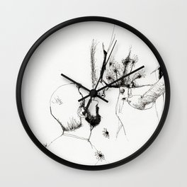 the florist Wall Clock