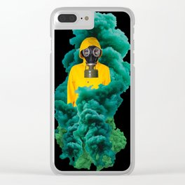 Atomic Stink Bomb Clear iPhone Case