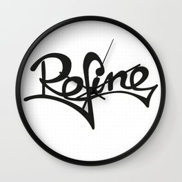 refine Wall Clock