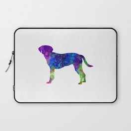 Istrian Scenthound in watercolor Laptop Sleeve