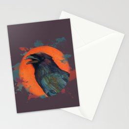 Raven Sun Stationery Cards
