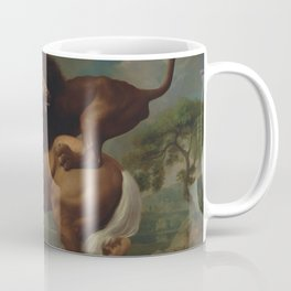 George Stubbs - A Lion Attacking a Horse Coffee Mug