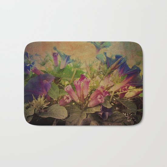 Flowers have music for those who will listen Bath Mat
