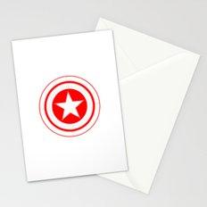 Capitaine Amérique Stationery Cards