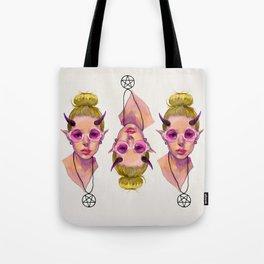 Monster Girl #3 Tote Bag