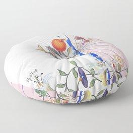 Salvador Dali Flordali Floor Pillow