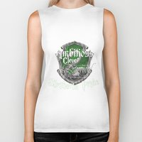 slytherin Biker Tanks featuring Slytherin Pride by iiNTRIGUE