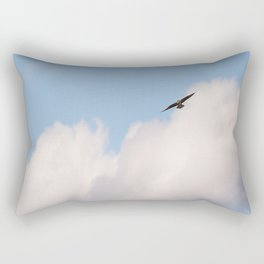 Osprey in Blue Sky #decor #society6 #buyart Rectangular Pillow
