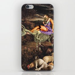 Us and the Animals iPhone Skin