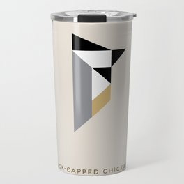 Black-Capped Chickadee Travel Mug