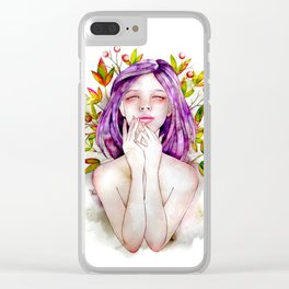 Lie to Me Clear iPhone Case