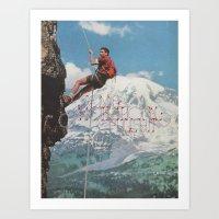 motivation Art Prints featuring MOTIVATION by Josh LaFayette