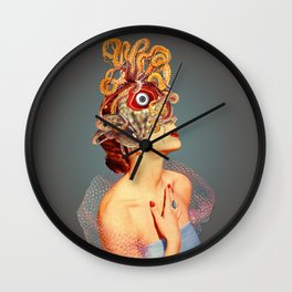Freud vs Jung Wall Clock