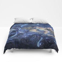 Swimming in Starlight Comforters