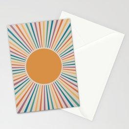 Boho Sun Stationery Cards