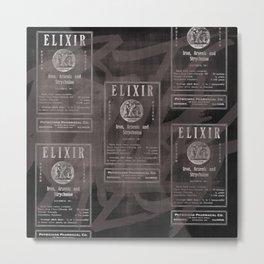 Elixir. Metal Print