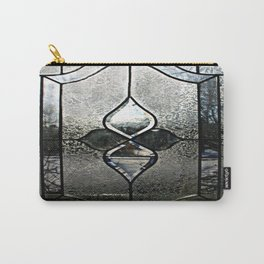 Frosted Transparency Carry-All Pouch