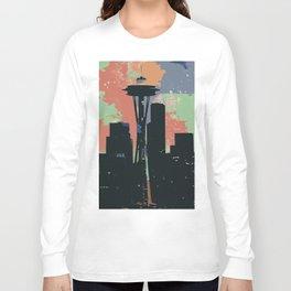 Seattle Splotches Long Sleeve T-shirt