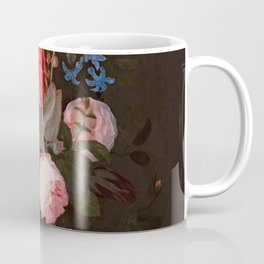 "Adriaen van der Spelt ""Still life of flowers on a stone ledge"" Coffee Mug"