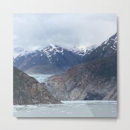 Glacier Alaska Metal Print