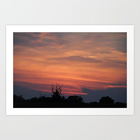 North Carolina Sunset Art Print