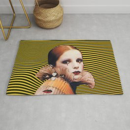 Sad Clown Rug