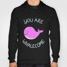 Whale, thank you! -Pink Version Hoody