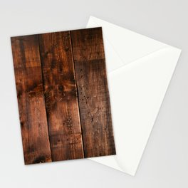 Natural Wood Boards Stationery Cards